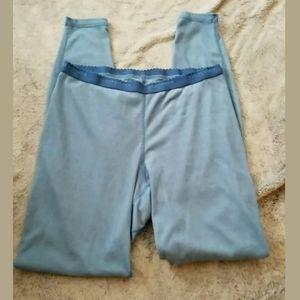 Patagonia Blue Base Layer Pants Size Large